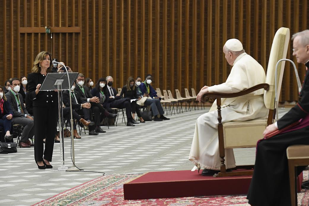 Rencontre interparlementaire, COP26 © Vatican Media