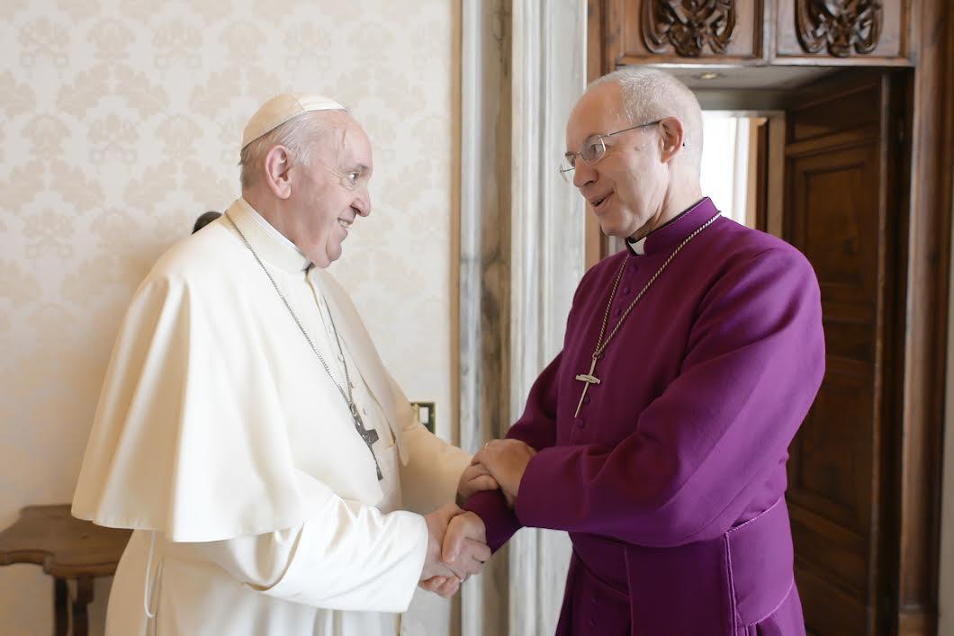 Archev. Justin Welby © Vatican Media
