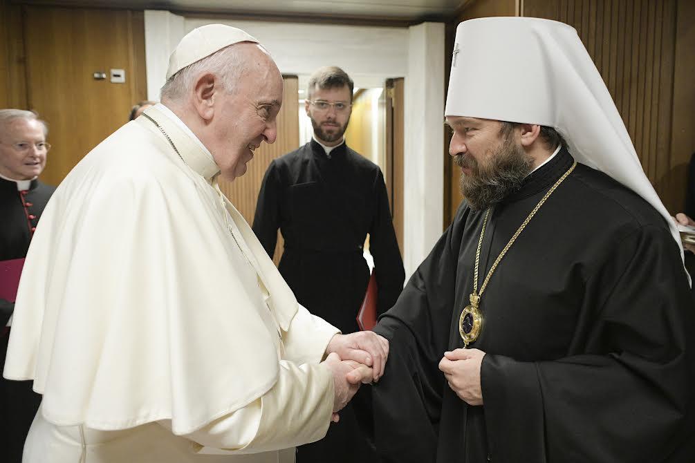 Métropolite Hilarion © Vatican Media