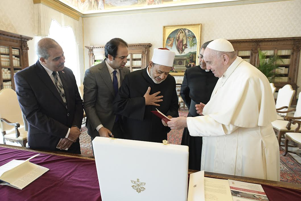 Mohamed Al-Tayyeb © Vatican Media