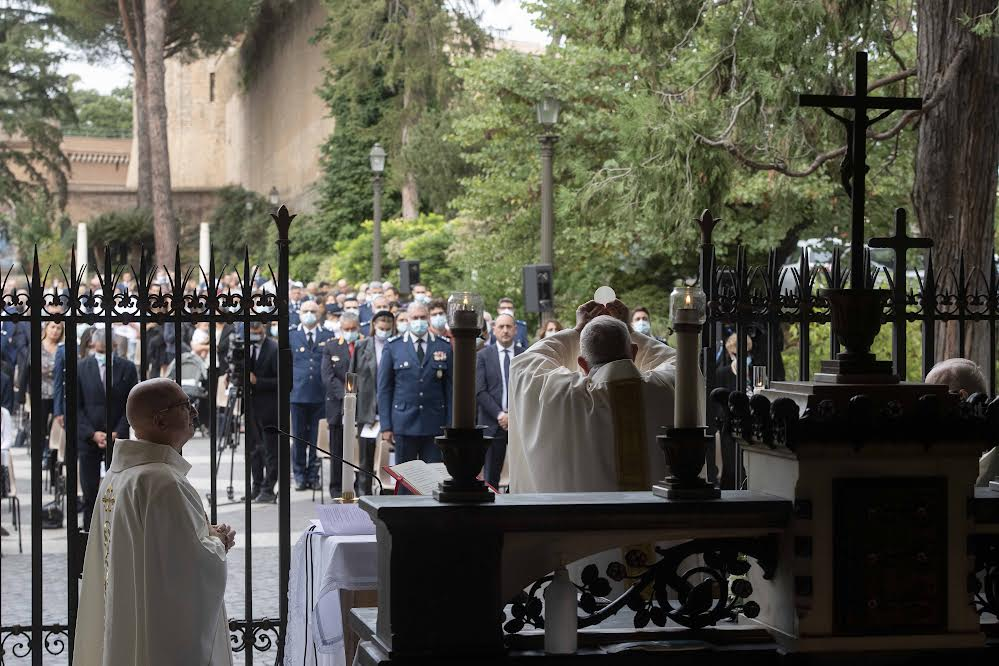 Messe pour la Gendarmerie vaticane © Vatican Media