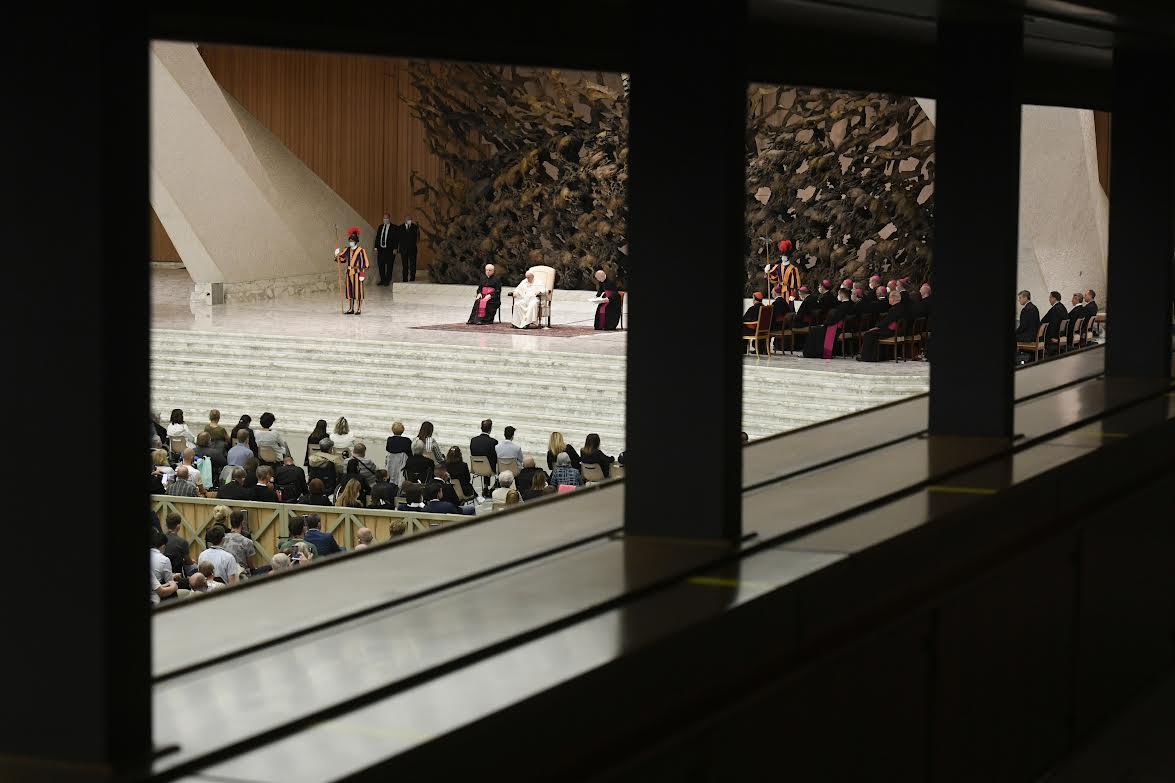Audience du 6 oct. 2021 © Vatican Media