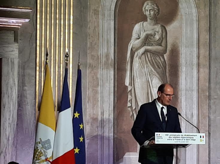 Centenaire de la reprise des relations avec le Saint-Siège : discours de M. Castex (texte complet)