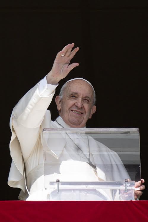 Angélus du 24 oct. 2021 © Vatican Media