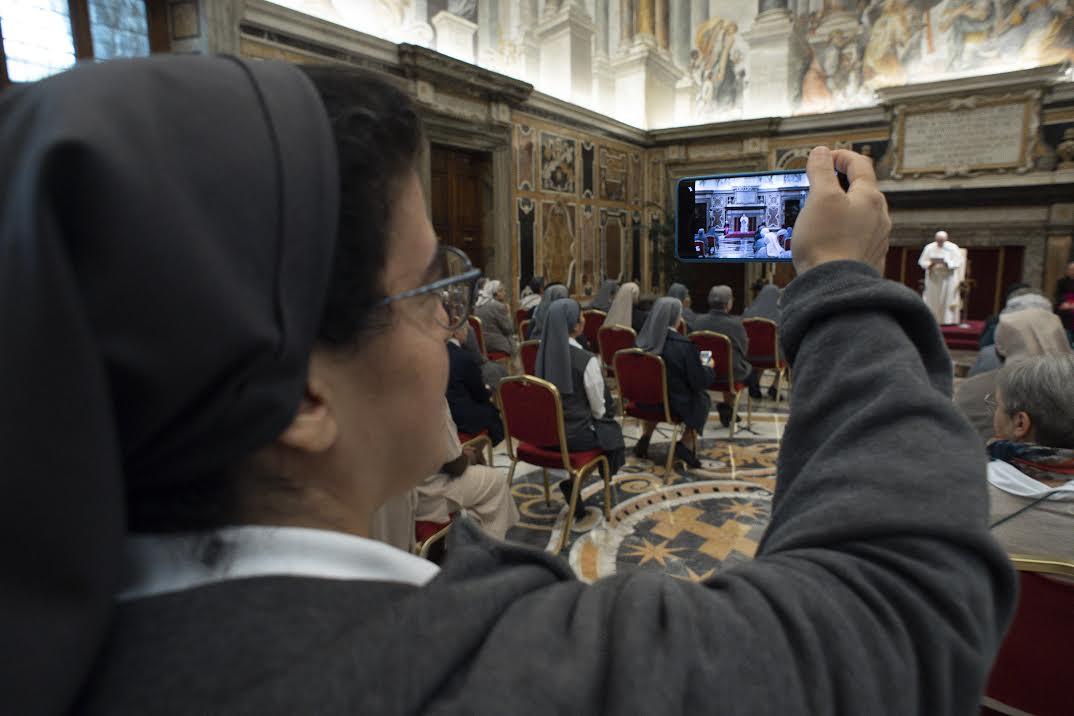 Soeurs de la charité de Jeanne Antide Touret © Vatican Media