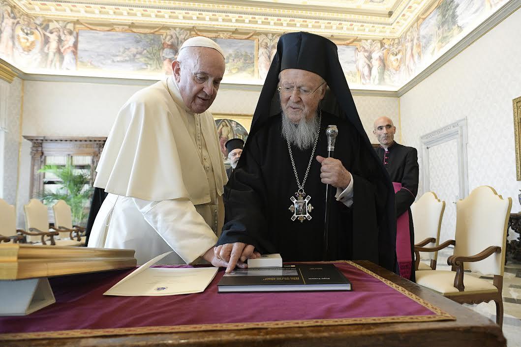 Bartholomée Ier © Vatican Media