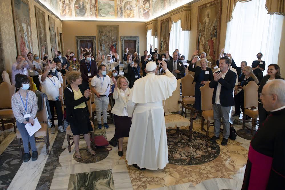 Foi et lumière, 2 oct. 2021 © Vatican Media