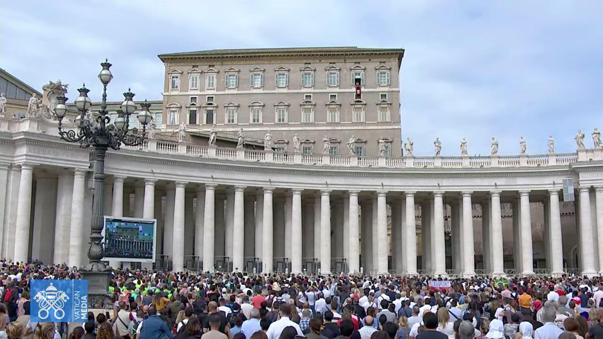Angélus, 3 octobre 2021 © capture Zenit / Vatican Media