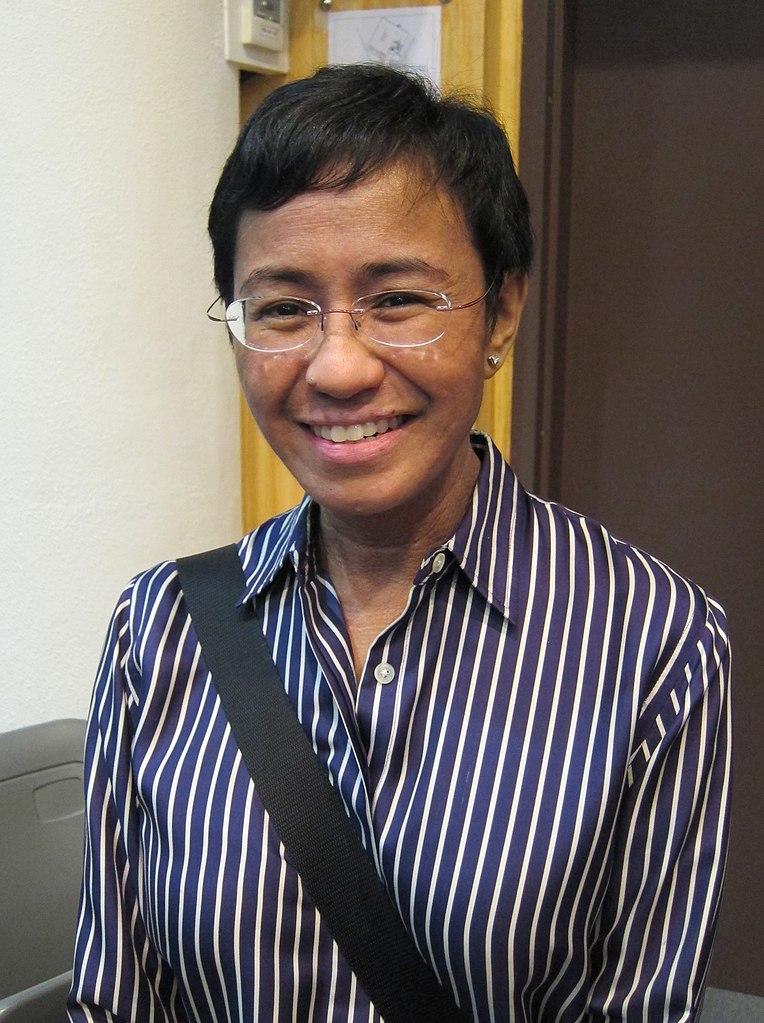 Maria Ressa © wikimedia commons / Joshua Lim (Sky Harbor)