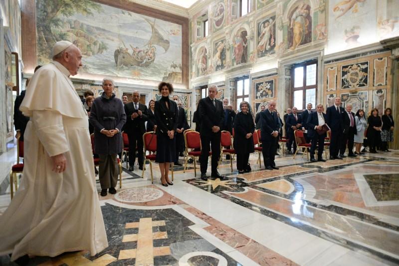 Università Campus Biomedico, 18 oct. 2021 © Vatican Media