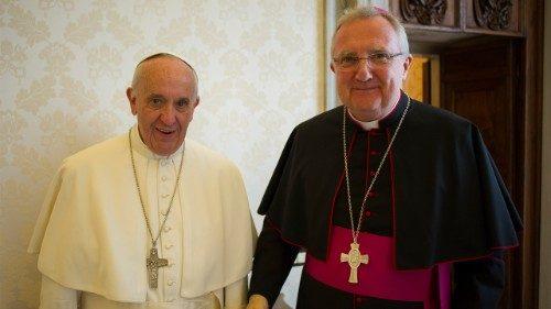 Mgr Arthur Roche © Vatican Media