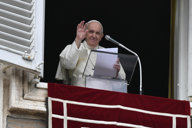 Soeur Gloria Cecilia, Ouverture du synode 2021-2023 © Vatican Media