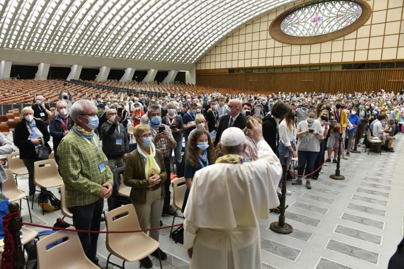 Pèlerinage oecuménique © Vatican Media
