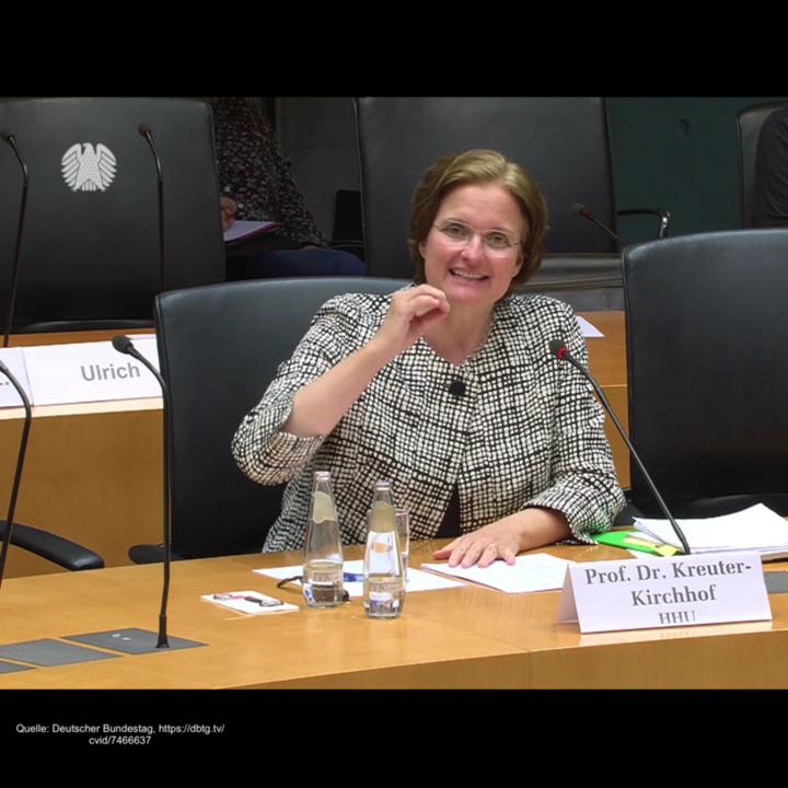 Mme Charlotte Kreuter Kirchhof © Bundestag