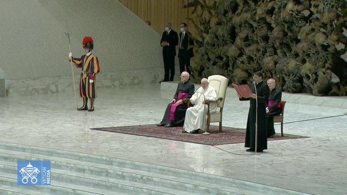 P. Georges Ayoub, 13 oct. 2021 © capture Zenit / Vatican Media