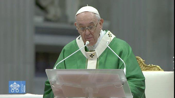 Ouverture du synode © capture Zenit / Vatican Media