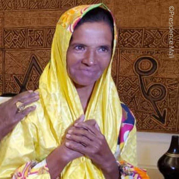Soeur Gloria Cecilia Narvaez © Présidence Mali