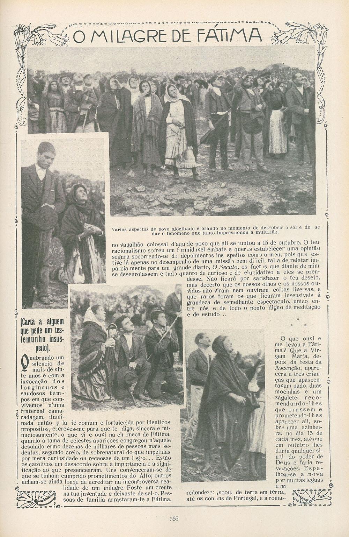 Fatima, 13 octobre 1917 © hemerotecadigital.cm-lisboa.pt