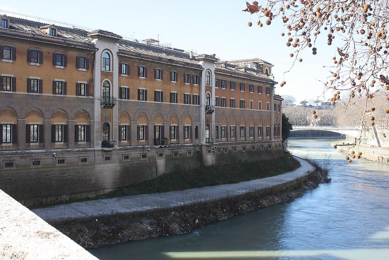 Hôpital Fatebenefratelli de Rome © wikimedia commons / Dguendel